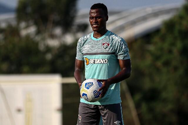 Jhon Arias, en Fluminense
