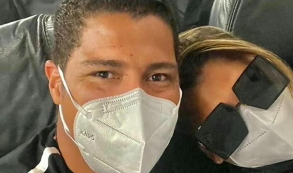 Rafa Pérez y su pareja sentimental