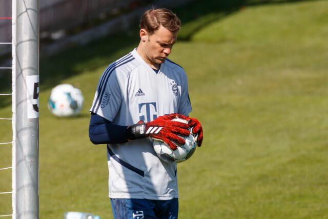 335041_Manuel Neuer, arquero del Bayern Múnich.