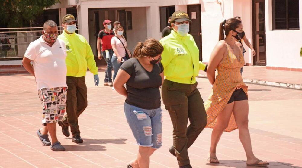 371525_Banda dedicada a la trata de personas en Neiva. Foto: Cortesía