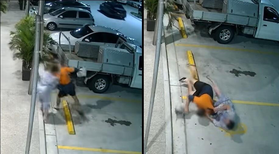 Abuela derriba a ladrón para recuperar su bolso
