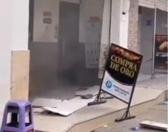 atentado en Caucasia