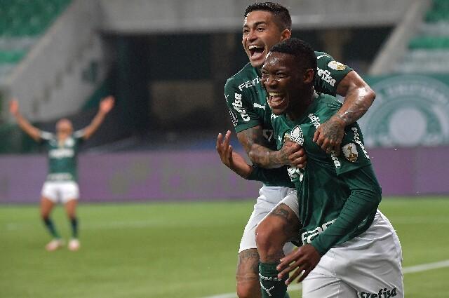 Palmeiras contra São Paulo, en Copa Libertadores