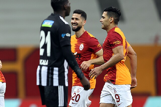 Falcao Galatasaray vs Besiktas