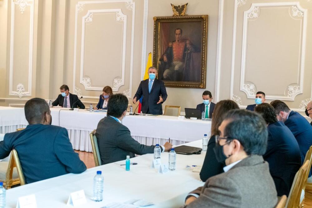 Reunión de Duque con Comité Nacional del Paro. Foto Presidencia.jpeg