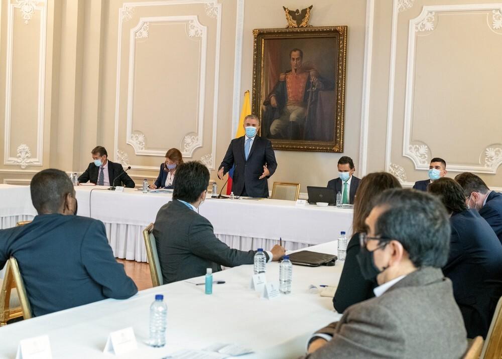 Reunión entre Duque y el Comité Nacional del Paro