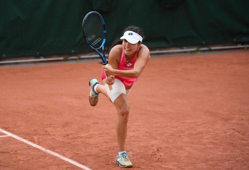 Maria Camila Osorio quedó a una victoria de jugar el cuadro principal de Roland Garros.