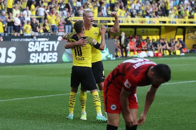 Borussia Dortmund contra Eintracht Frankfurt
