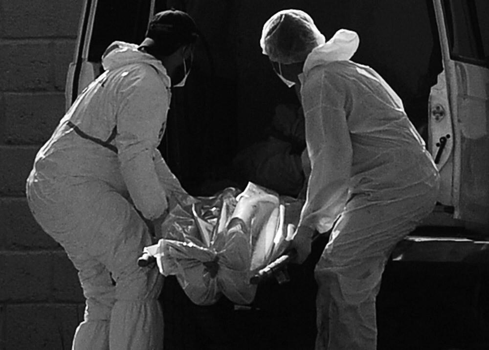 Levantamiento de cadáver