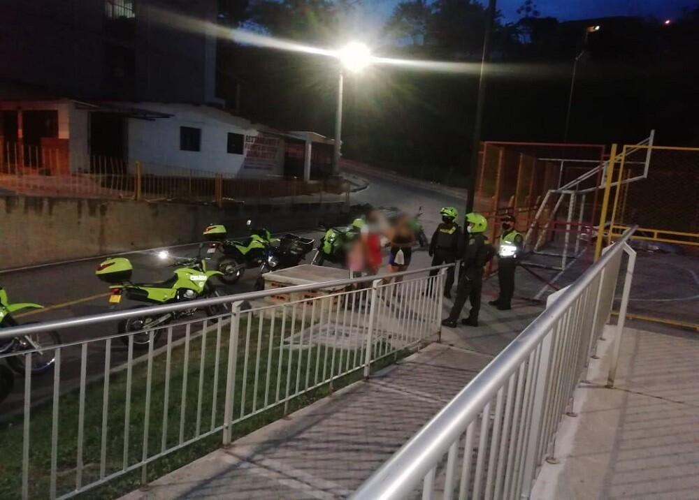 369358_BLU RADIO: Operativo Bucaramanga. Foto: suministrada
