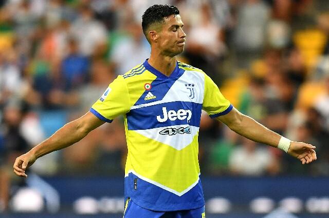 Cristiano Ronaldo, en Juventus por la Serie A 2021/22