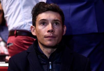 Miguel Ángel López, ciclista colombiano del Movistar.
