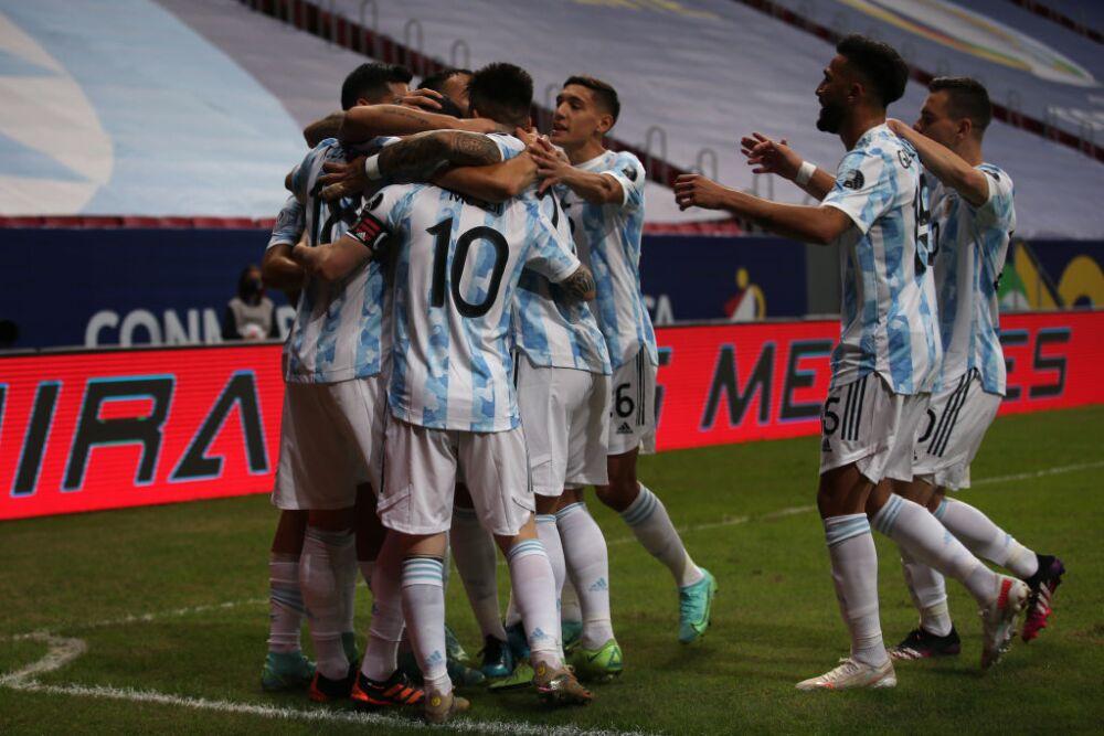 Argentina v Uruguay: Group A - Copa America Brazil 2021