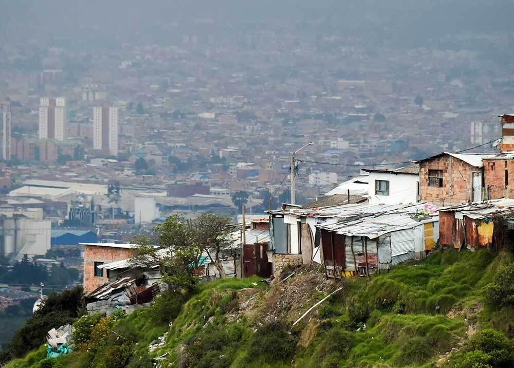 326998_BLU Radio, estratos en Colombia / foto: AFP