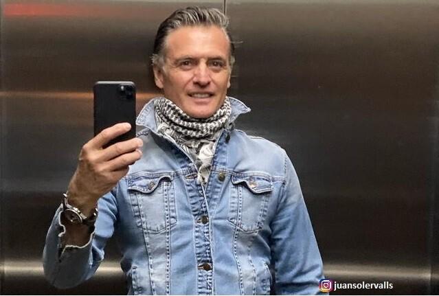 Actor Juan Soler y su postura de vacuna contra el COVID.