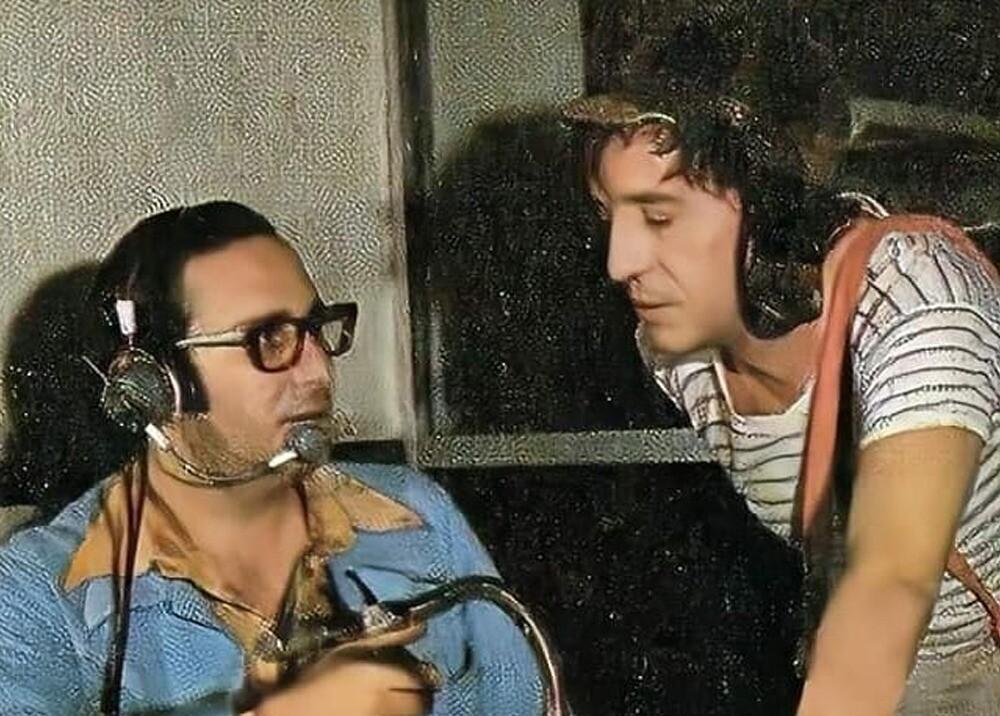 Enrique Segoviano y Roberto Gómez Bolaños