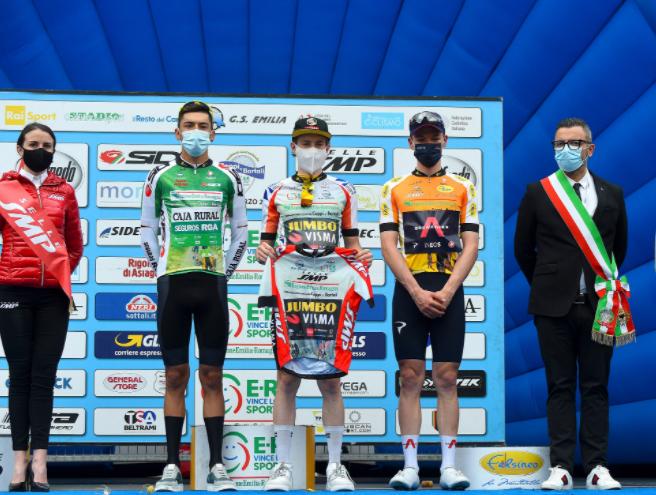 Alejandro Osorio se coronó campeón de la montaña de la Coppi e Bartali.