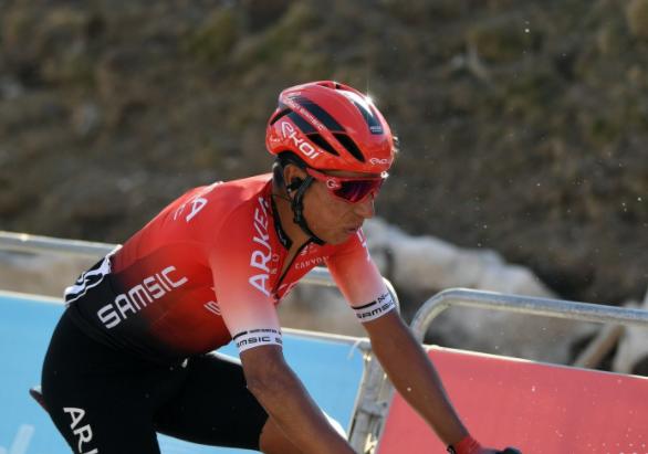 Nairo Quintana fue 11 en la etapa 3 de la Vuelta a Cataluña.