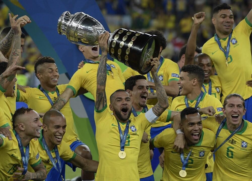 338158_BLU Radio. Brasil triunfó en la Copa América 2019 // Foto: AFP