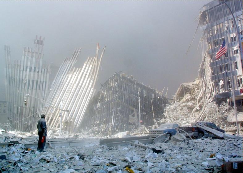 Atentados 11 de septiembre 2001 en Nueva York Foto AFP.PNG