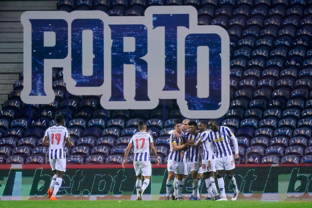 Luis Díaz celebra con Porto