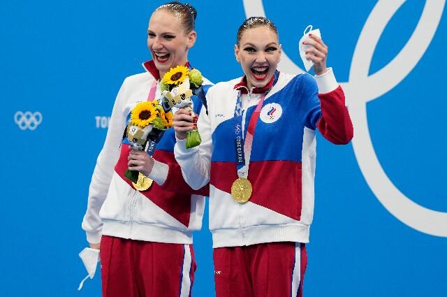 Svetlana Romashina, en los Juegos Olímpicos de Tokio 2020