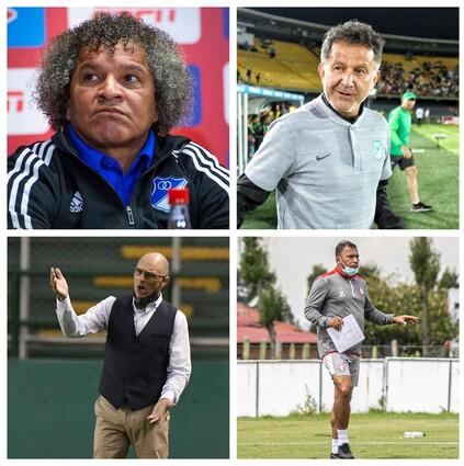 Entrenadores liga colombiana 2020