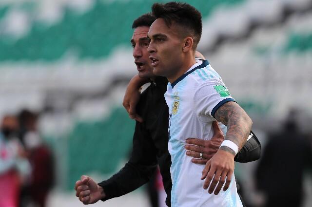 Lionel Scaloni, en la Selección Argentina