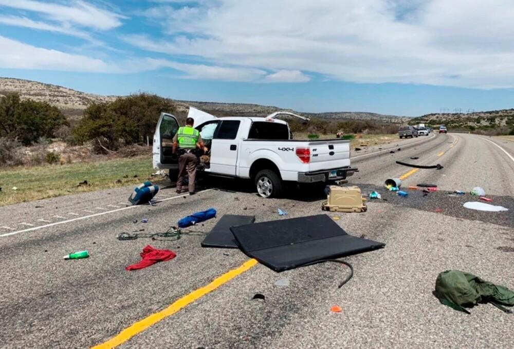 Ocho inmigrantes perdieron la vida en una fatal accidente de tránsito