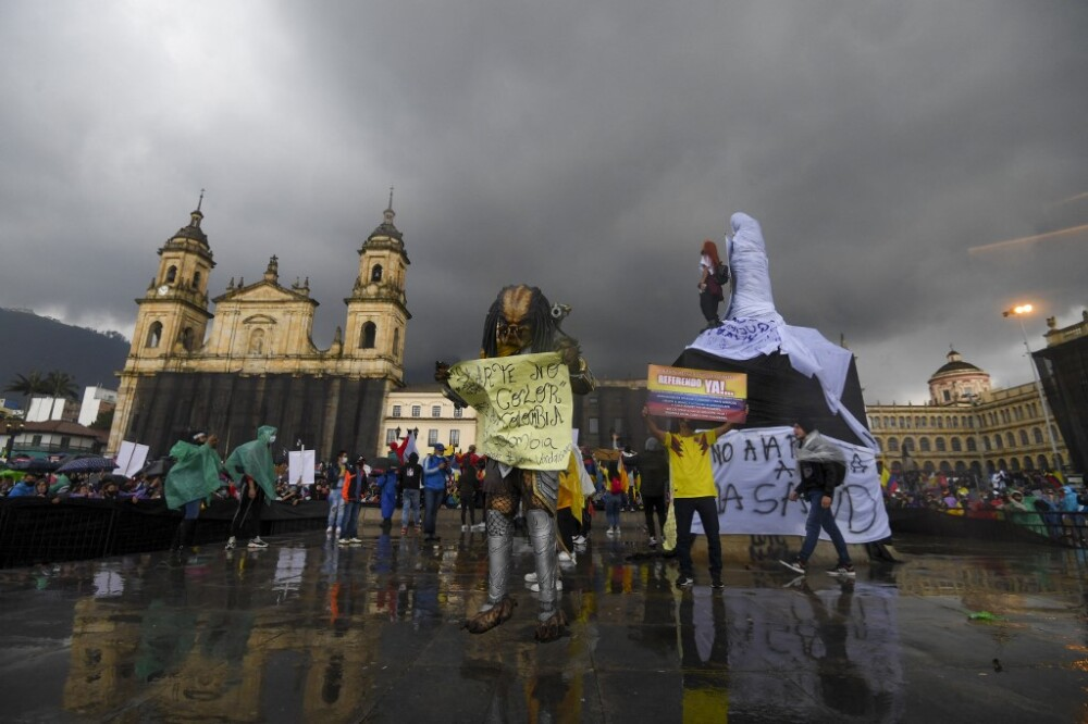 COLOMBIA-CRISIS-PROTEST