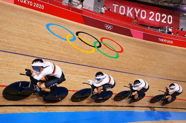 Equipo de Alemania de persecución femenina, en los Juegos Olímpicos de Tokio
