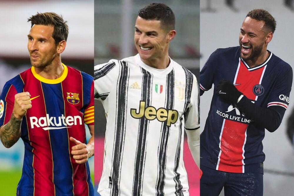Messi - Cristiano - Neymar