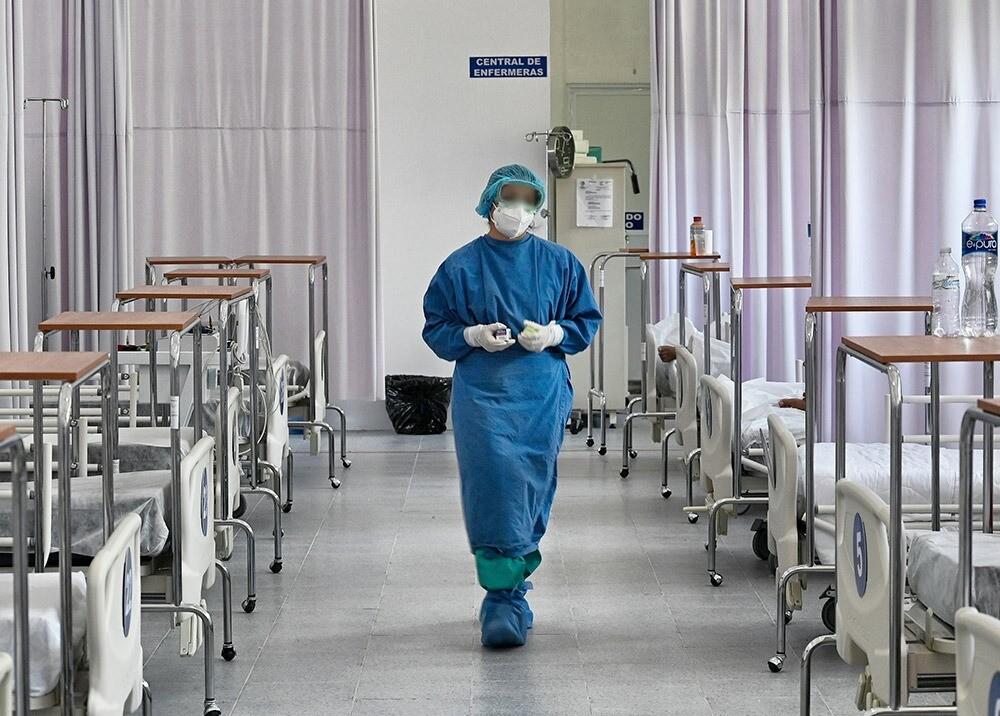 368766_Enfermera en la pandemia // Foto: AFP, imagen de referencia