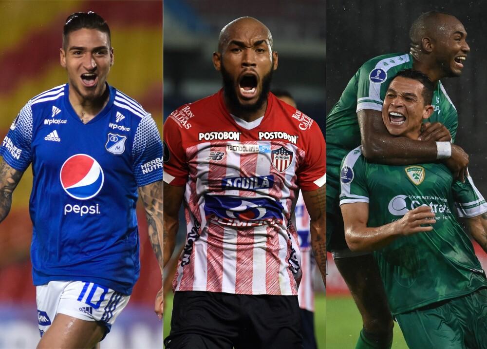 Semifinalistas liga colombiana Foto AFP.jpg