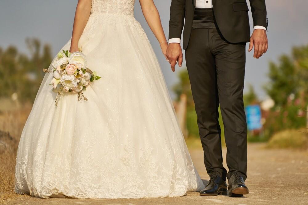 La pareja se quedó sin las fotografías de la ceremonia