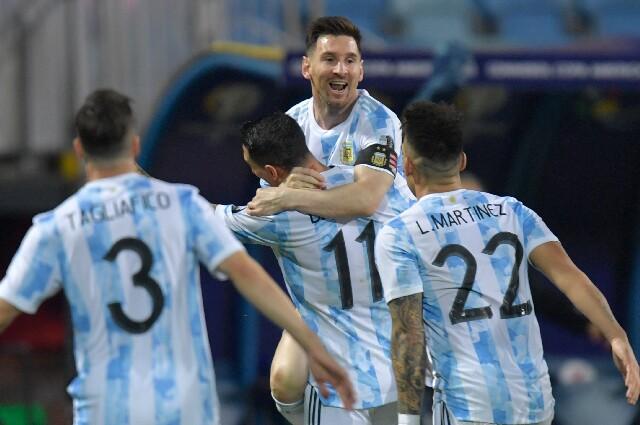 Posible alineación titular de la Selección Argentina