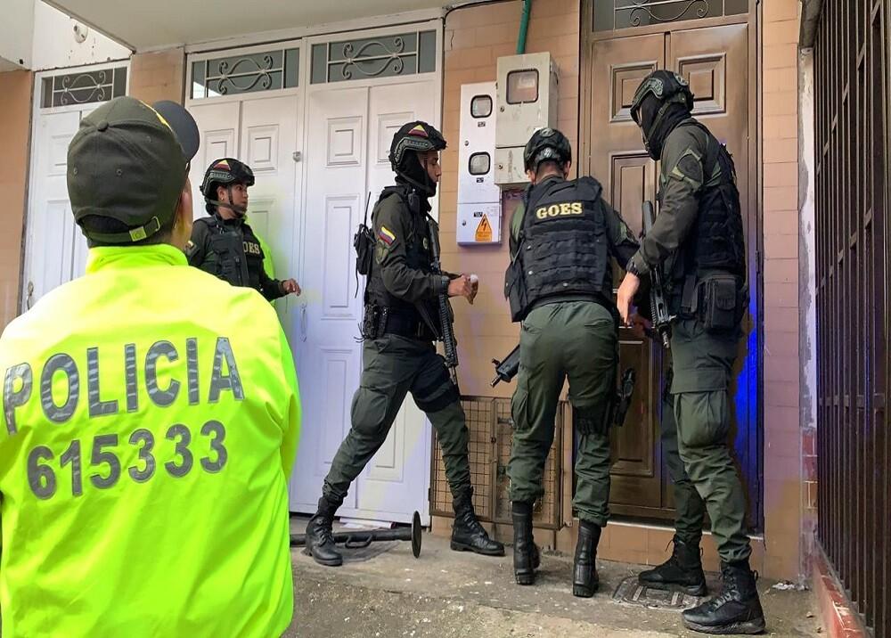348302_BLU Radio. Operativo Microtráfico / Foto:Sumistrada Policía