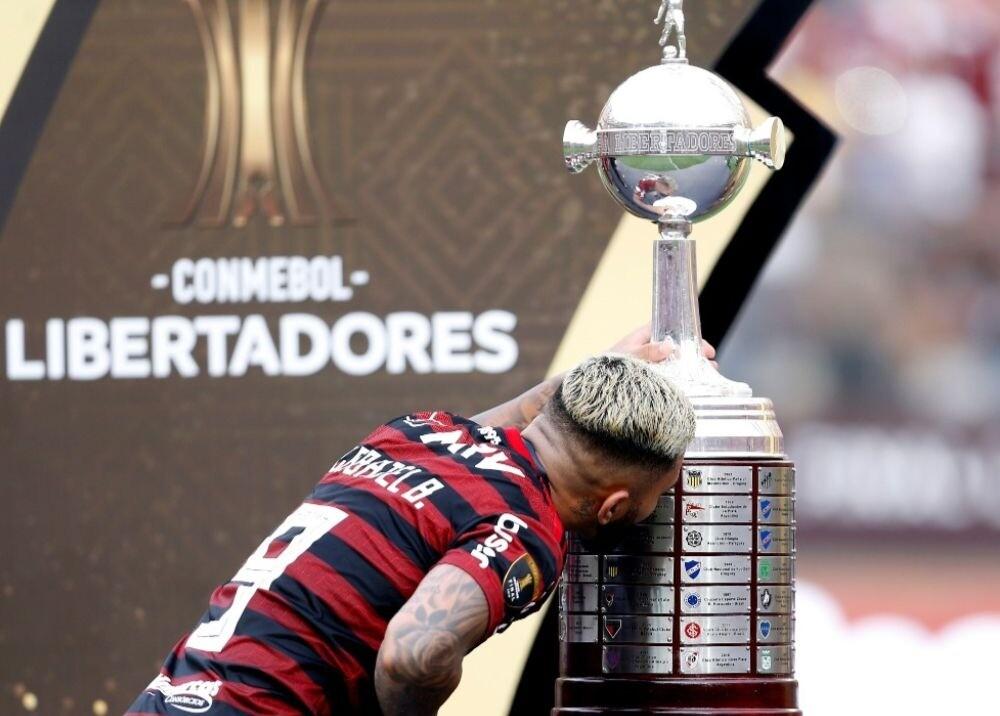 370697_Flamengo Copa Libertadores / AFP