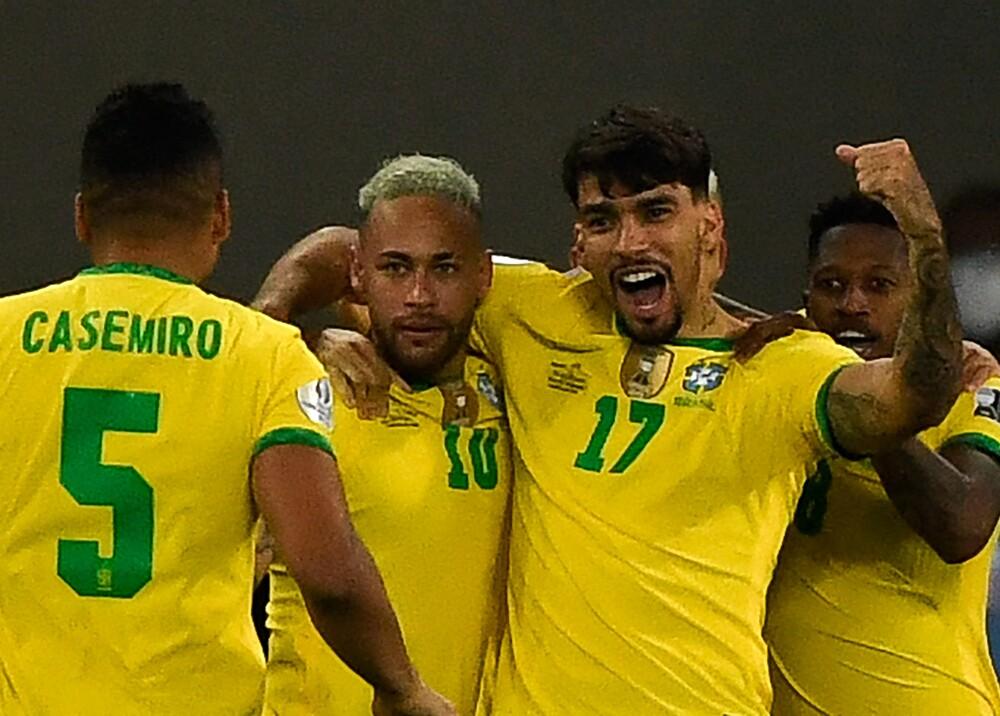 Selección Brasil paquetá AFP.
