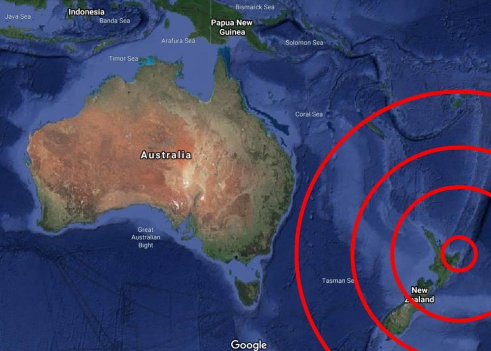 Temblor en Nueva Zelanda