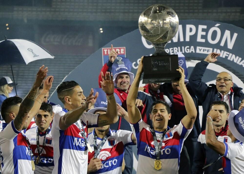 335474_BLU Radio. Tigre se coronó campeón en la Superliga Argentina // Foto: AFP