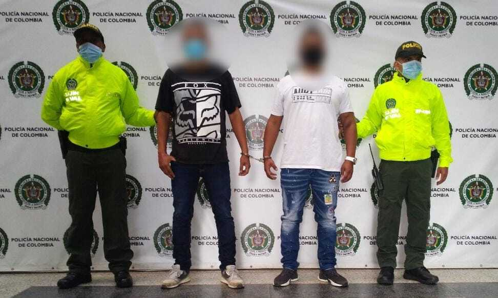 presuntos integrantes de Los Triana implicados en triple homicidio