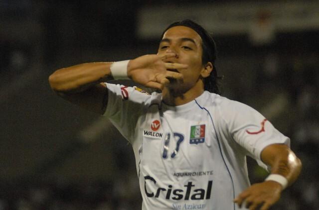 Dayro Moreno, futbolista de Once Caldas