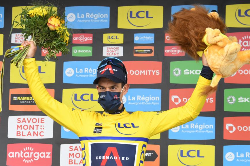 Richie Porte es el líder del Critérium del Dauphiné 2021.
