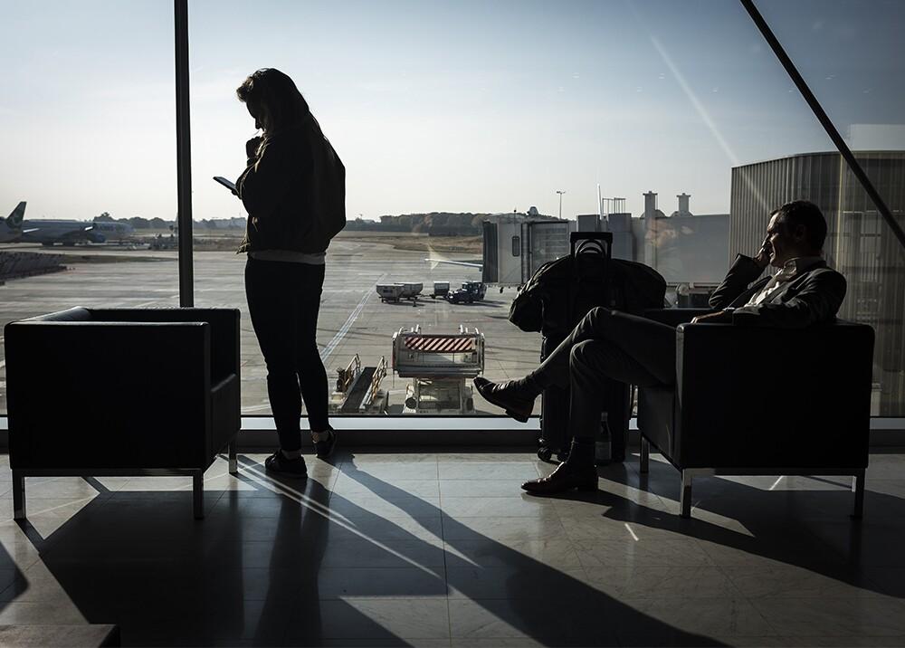 333673_BLU Radio. Aeropuerto - Referencia // Foto: AFP