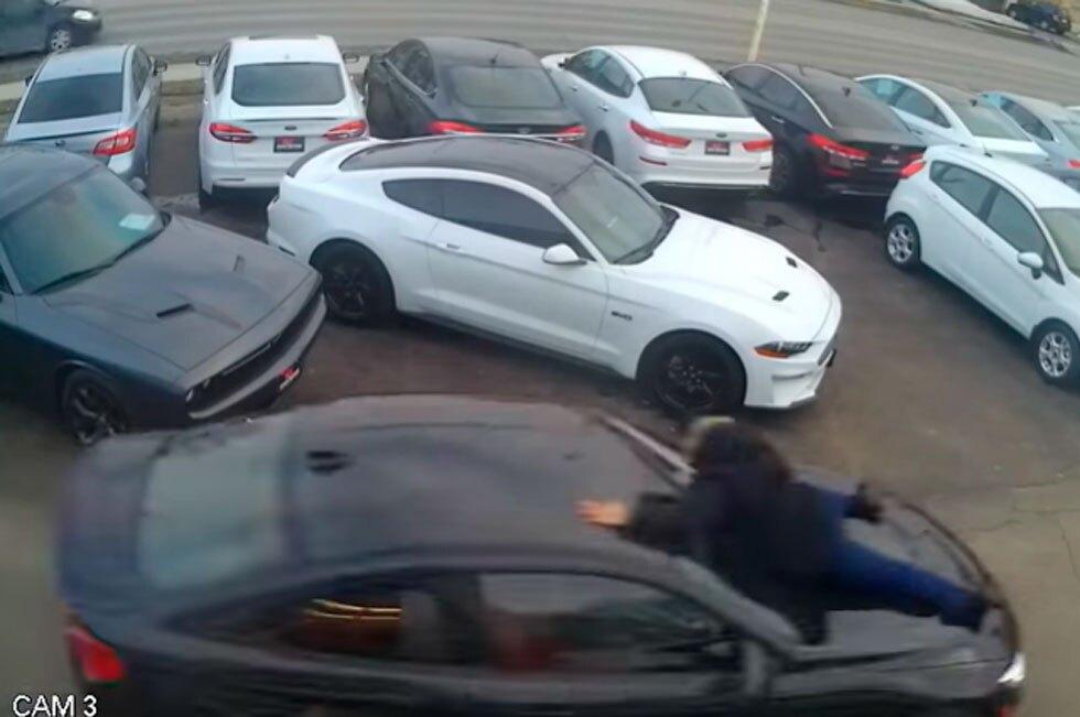 Ladrón carro