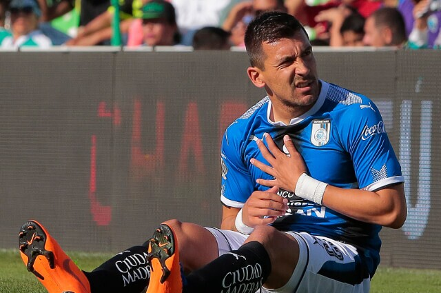 333915_Edgar Benítez, jugador paraguayo.