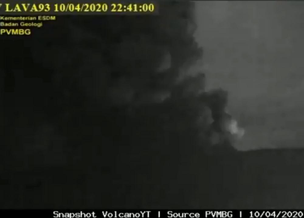 360161_Erupción del volcán Krakatoa // Foto: Sky News