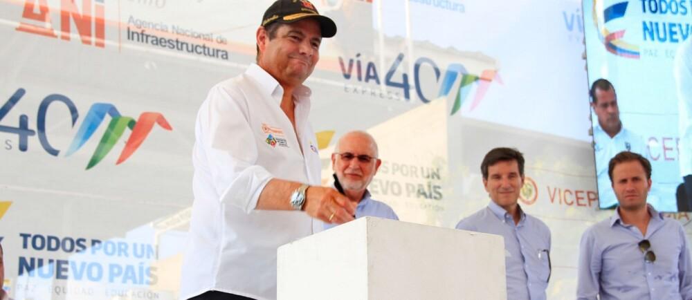 272320_BLU Radio. Germán Vargas Lleras / Foto: Vicepresidencia