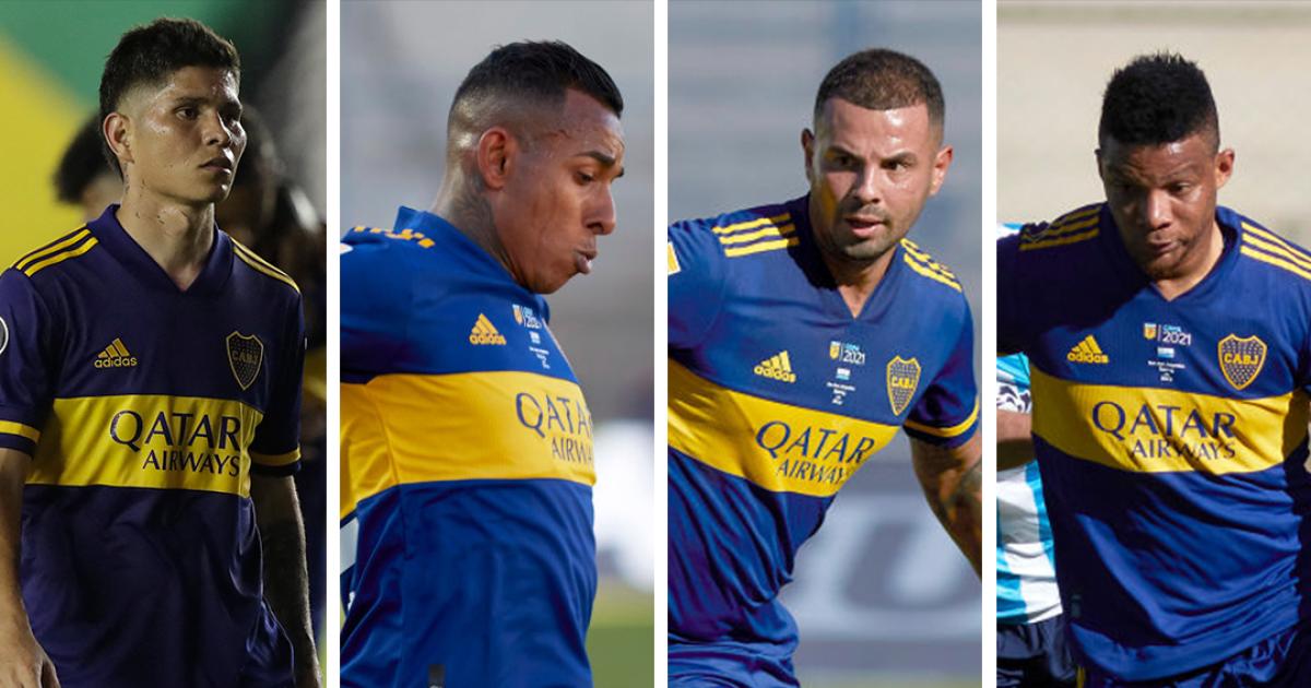 Así les fue a los colombianos de Boca Juniors en la semifinal contra Racing: no superan los 6 puntos